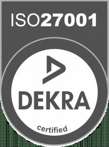 Dekra certified ISO 27001