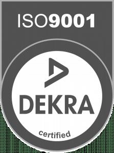 Dekra certified ISO 9001